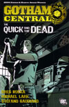 Gotham Central 4: The Quick and the Dead - cover