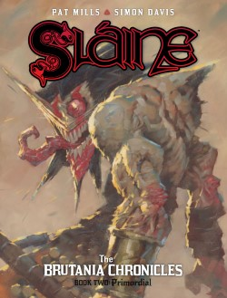 Slaine: Brutania Chronicles 2 - Primordial cover