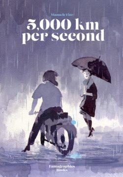5,000 km Per Second - Manuele Fior - cover