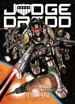 Judge Dredd: Titan - cover