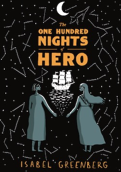 The One Hundred Nights of Hero cover by Isabel Greeberg
