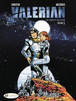 Valerian: The Complete Collection cover by Pierre Christin and Jean-Claude Mézières