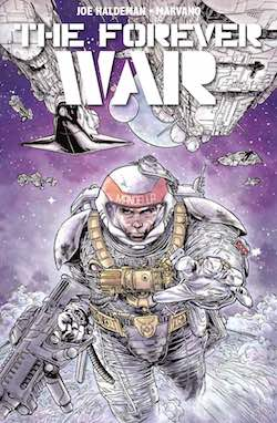 The Forever War by Joe Haldeman - cover by Marvano