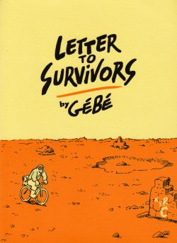 Cover of Letter to Survivors by Gébé