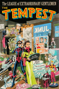 Cover of The League of Extraordinary Gentlemen Volume IV: The Tempest