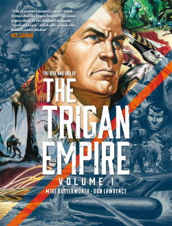 The Rise and Fall of the Trigan Empire cover